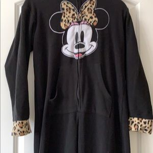 Minnie Mouse footed pajamas